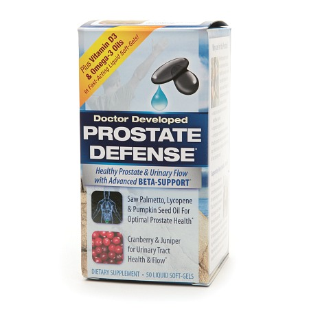 Applied Nutrition Prostate Defense, Liquid Soft-Gels - 50 ea