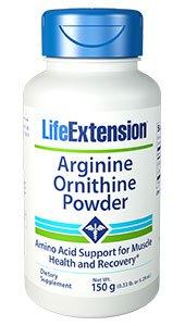 Arginine Ornithine Powder, Net Wt. 150 g (0.33 lb. or 5.29 oz.)