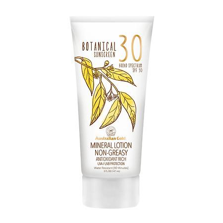 Australian Gold Mineral Lotion Botanical Sunscreen SPF 30 - 5 oz.
