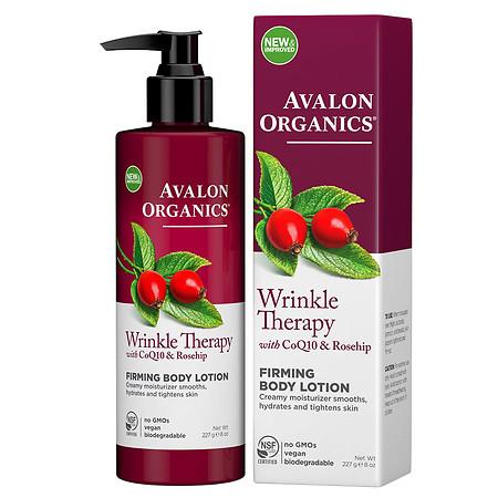 Avalon Organics Wrinkle Therapy Firming Body Lotion - 8 fl oz
