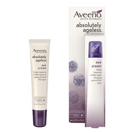 Aveeno Active Naturals Absolutely Ageless Eye Cream Blackberry - 0.5 oz.
