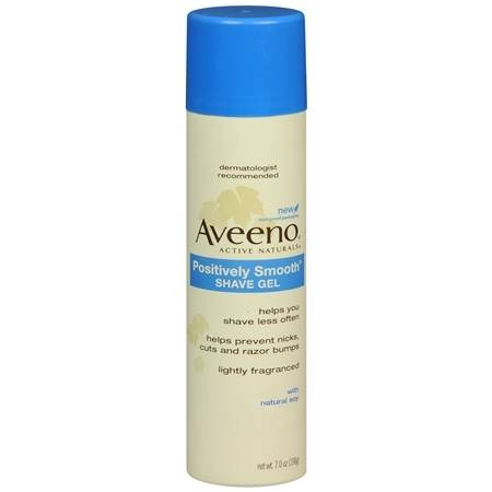 Aveeno Active Naturals Positively Smooth Shave Gel - 7 oz.