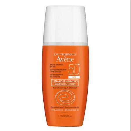 Avene Ultra-light Hydrating Sunscreen Lotion SPF 50+ - 1.7 oz.