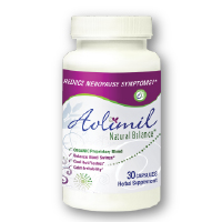 Avlimil Natural Menopause & Hot Flash Supplement with Black Cohosh & Isoflavones - 1 Month Supply