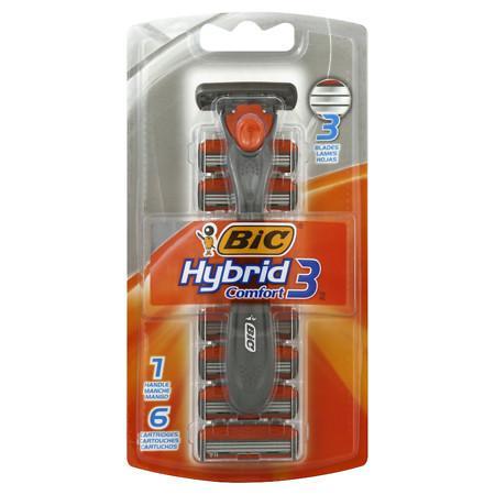 BIC Hybrid Advance Disposable Razor System - 1 ea