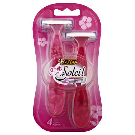 BIC Simply Soleil for Women, Disposable Shaver - 4 ea
