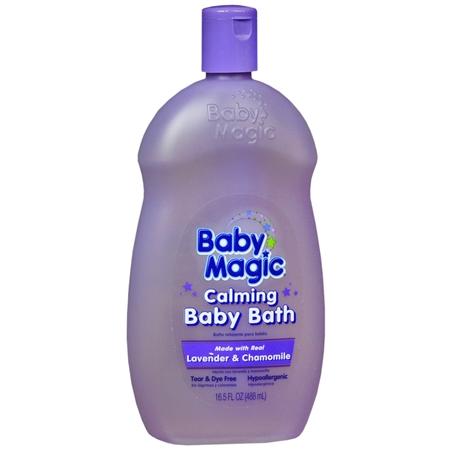 Baby Magic Calming Baby Bath Lavender & Chamomile - 16.5 oz.
