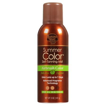 Banana Boat Sunless Summer Color Summer Color Self-Tanning Mist - 5 oz.