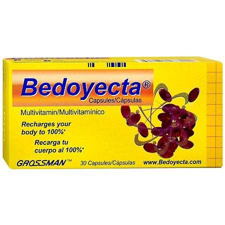 Bedoyecta Multivitamin Capsules - 30 ea.