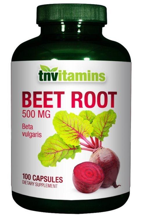 Beet Root 500 Mg Capsules