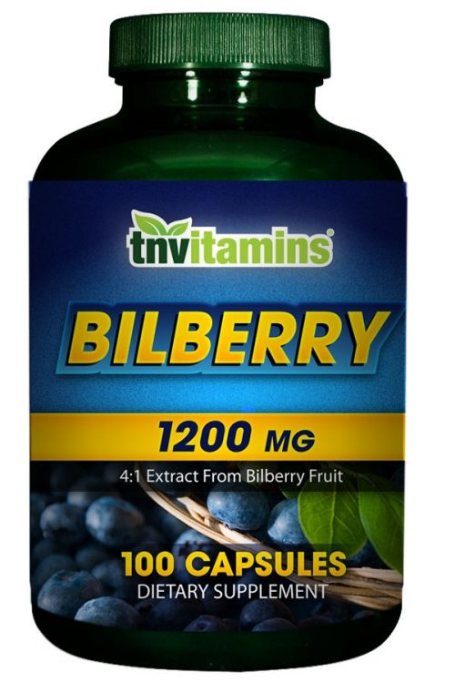 Bilberry 1200 Mg Extract