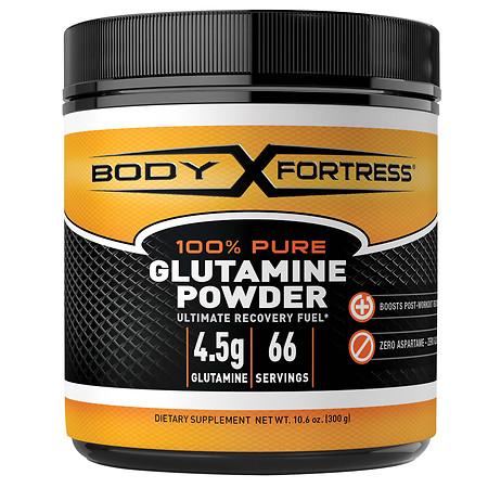 Body Fortress 100% Pure Glutamine Powder - 10.6 oz.