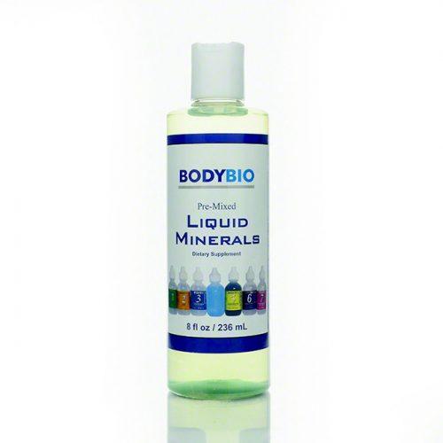 BodyBio Pre-mixed 1-7 Liquid Minerals, 8 fl oz
