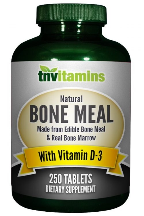 Bone Meal With Vitamin D