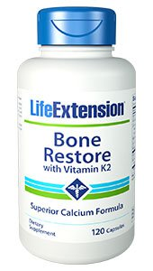 Bone Restore with Vitamin K2, 120 capsules
