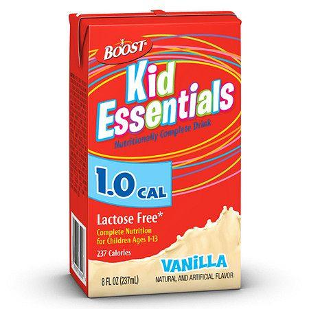 Boost Kid Essentials 1.0 Cal Medical Nutritional Drink Vanilla - 8 oz.