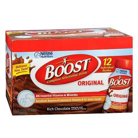 Boost Original Complete Nutritional Drink Rich Chocolate - 8 oz.