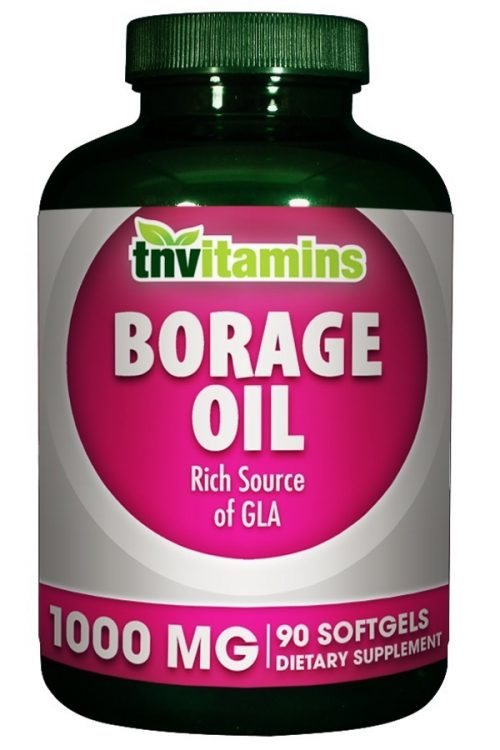 Borage Oil 1000 Mg with GLA