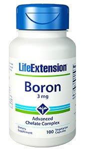 Boron, 3 mg, 100 vegetarian capsules
