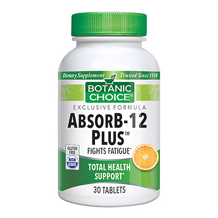 Botanic Choice AbsorB-12 Plus Dietary Supplement Tangerine Flavor - 30 ea