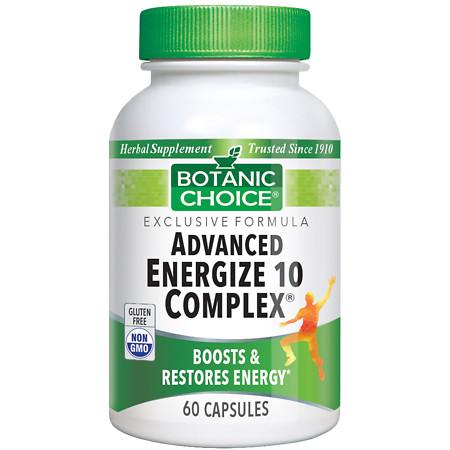 Botanic Choice Advanced 10 Complex Herbal Supplement Capsules - 60 ea.