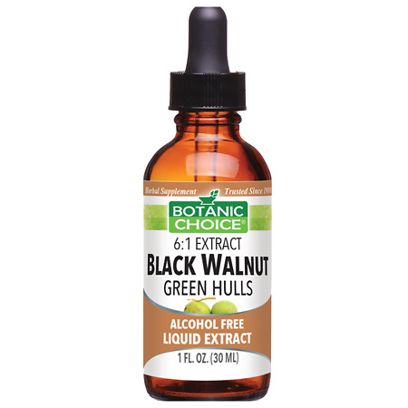 Botanic Choice Black Walnut Green Hulls Herbal Supplement Liquid - 1 oz.