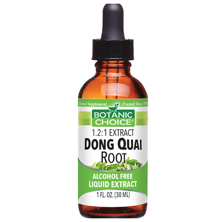 Botanic Choice Dong Quai Root Herbal Supplement Liquid - 1 oz.