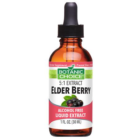 Botanic Choice Elder Berry Herbal Supplement Liquid - 1 oz.