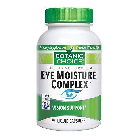 Botanic Choice Eye Moisture Complex Dietary Supplement Liquid Capsules - 90 ea