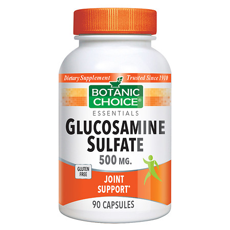 Botanic Choice Glucosamine Sulfate 500 mg Dietary Supplement Capsules - 90 ea