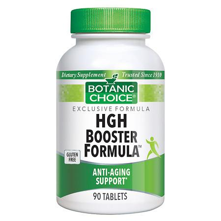 Botanic Choice HGH Booster Formula Dietary Supplement Tablets - 90 ea
