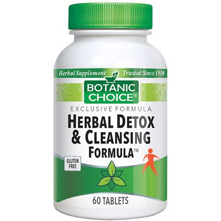 Botanic Choice Herbal Detox & Cleansing Herbal Supplement Tablets - 60 ea.