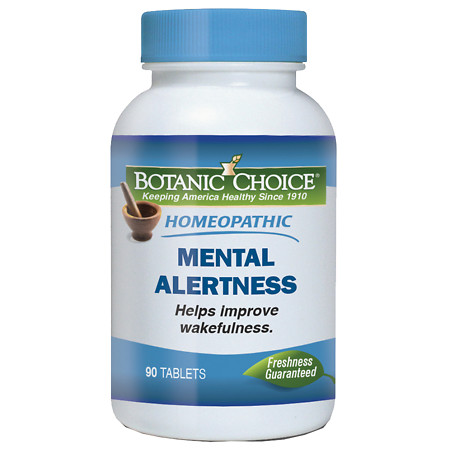 Botanic Choice Homeopathic Mental Alertness Formula, Tablets - 90 ea