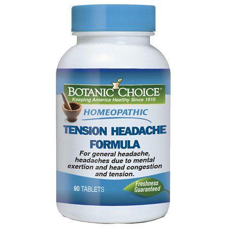 Botanic Choice Homeopathic Tension Headache Formula, Tablets - 90 ea