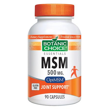 Botanic Choice MSM 500 mg Dietary Supplement Capsules - 90 ea.