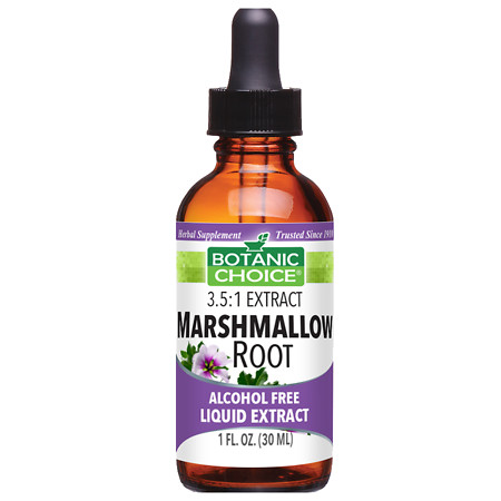 Botanic Choice Marshmallow Root Herbal Supplement Liquid - 1 oz.