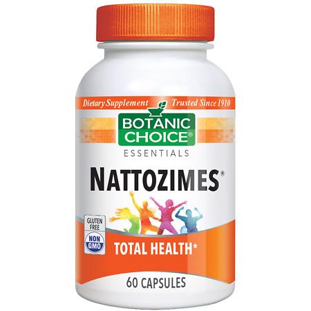 Botanic Choice Nattozimes Dietary Supplement Capsules - 60 ea.