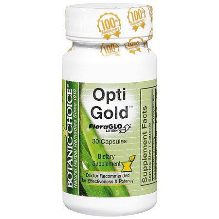 Botanic Choice Opti Gold Dietary Supplement Capsules - 30 ea.