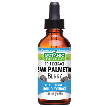Botanic Choice Saw Palmetto Berry Herbal Supplement Liquid - 1 oz.