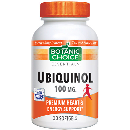 Botanic Choice Ubiquinol 100 mg - 30 ea