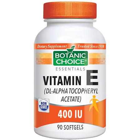 Botanic Choice Vitamin E 400 IU Dietary Supplement Softgels - 90 ea.