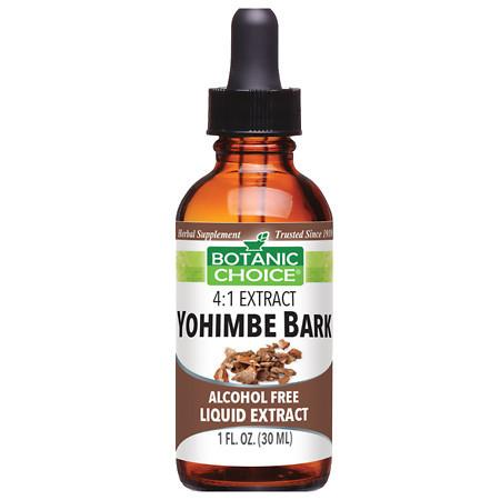 Botanic Choice Yohimbe Bark Herbal Supplement Liquid - 1 oz.
