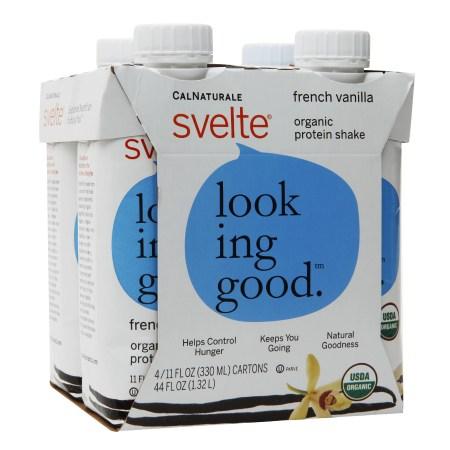 CalNaturale Svelte Organic Protein Shake French Vanilla - 11 oz.