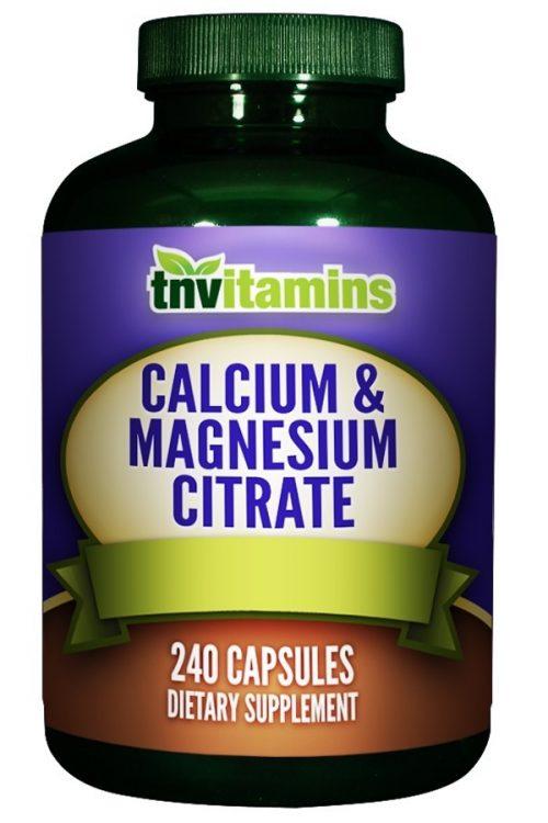 Calcium and Magnesium Citrate Plus Vitamin D3
