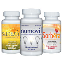 Calm Clarity Wellness Supplement Bundle with Focus, Mood, Concentration, and Probiotic Support
