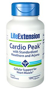 Cardio Peak™ with Standardized Hawthorn and Arjuna, 120 vegetarian capsules