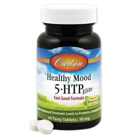 Carlson Healthy Mood 5 HTP Elite, tablets - 60 ea