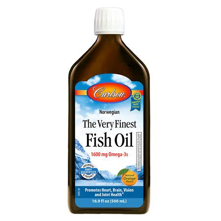 Carlson The Very Finest Fish Oil Omega-3's DHA & EPA Orange - 16.9 oz.