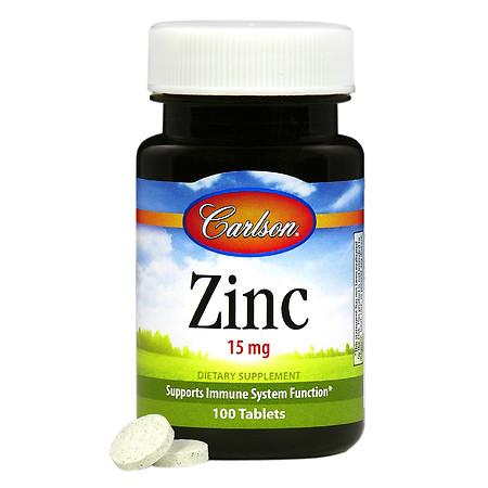Carlson Zinc 15 mg - 100 ea