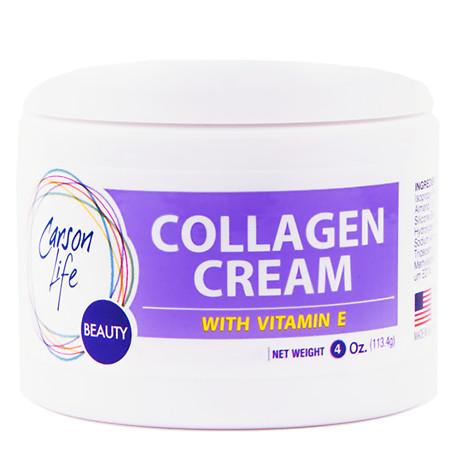 Carson Life Collagen Elastin with Vitamin E Face Cream Lavender - 4 oz.